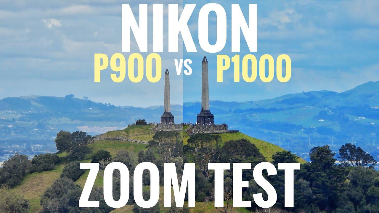 Nikon P900 vs P1000 Zoom Test: Mt Eden to One Tree Hill ...