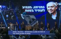 ISRAEL-NETANYAHU-CLAIMS-VICTORY-AT-THE-LEGISLATURES-IN-ISRAEL